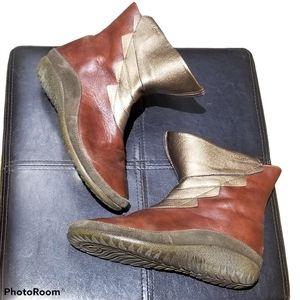 NAOT Leather & Suede Wmns Boots (Size 38EU = 8)